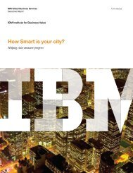 Download the report to assess your city - IBM