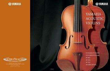 YAMAHA ACOUSTIC VIOLINS - Ymusic.kz