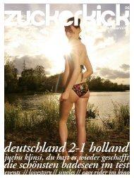 deutschland 2-1 holland - Zuckerkick