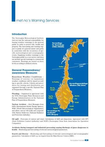 Met. no's warning services - Euroforecaster.org