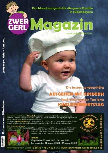 AUSGEHEN MIT KINDERN ... - Zwergerl Magazin
