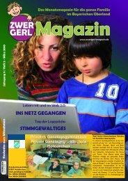 INS NETZ GEGANGEN STIMMGEWALTIGES - Zwergerl Magazin