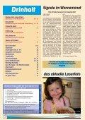 Das Monatsmagazin für die ganze Familie im ... - Zwergerl Magazin - Page 2