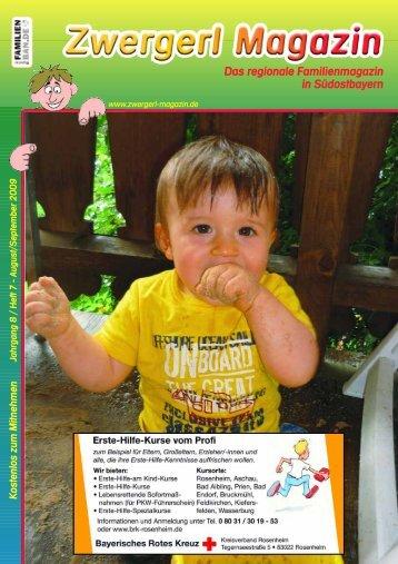 Das regionale Familienmagazin in Südostbayern - Zwergerl Magazin