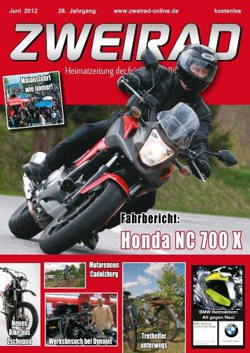 Honda NC 700 X - ZWEIRAD-online