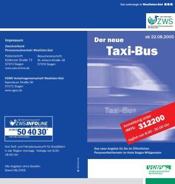 Taxi-Bus - ZWS