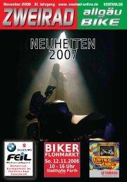 NEUHEITEN 2007 - ZWEIRAD-online