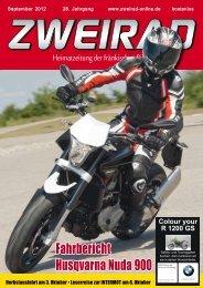 ZWEIRAD 2012-09.pdf (14,8 MB) - ZWEIRAD-online