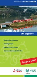 Bahn & Bike am Biggesee - ZWS