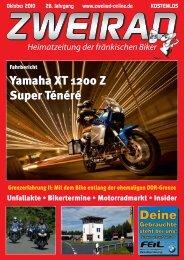 Deine Yamaha XT 1200 Z Super Ténéré - ZWEIRAD-online