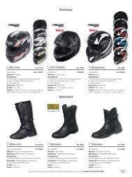 Helme Stiefel - Zweirad Grisse