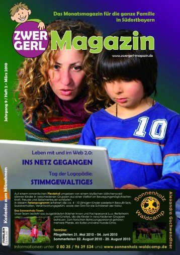 Heft 2 - März 2010 - Zwergerl Magazin