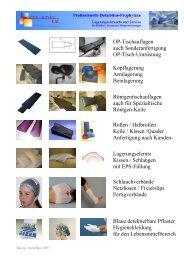 OP-Tischumrüstung auf memo-soft Weichlagerung - Youblisher.com