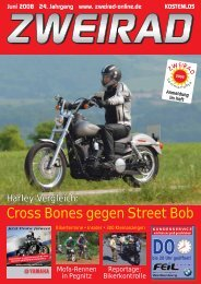 Cross Bones gegen Street Bob - ZWEIRAD-online