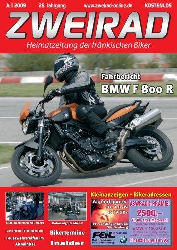 BMW F 800  R - ZWEIRAD-online