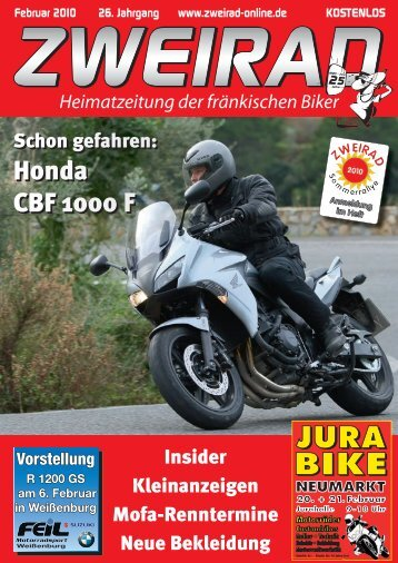 Honda CBF 1000 F Honda CBF 1000 F - ZWEIRAD-online