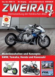BMW, Yamaha, Honda und Kawasaki - ZWEIRAD-online