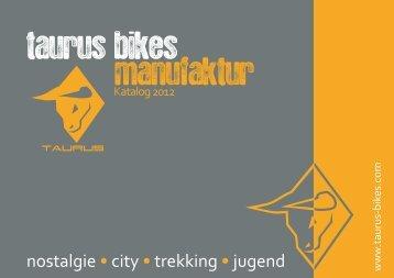 taurus bikes manufaktur - Achtung