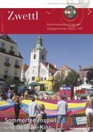 Gemeindenachrichten 3/2005 - Zwettl