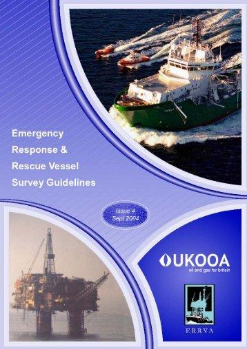 UKOOA - ERRVA EMERGENCY RESPONSE & RESCUE VESSEL ...