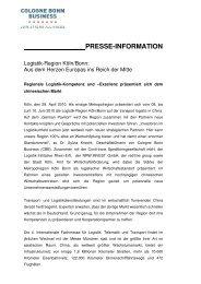 Pressemitteilung - Sites & Services