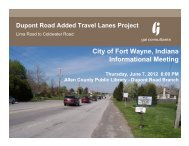 June 7 2012 Public Meeting - City of Fort Wayne