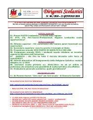 notiziario 06 21/01/2010 - FLC CGIL Lombardia