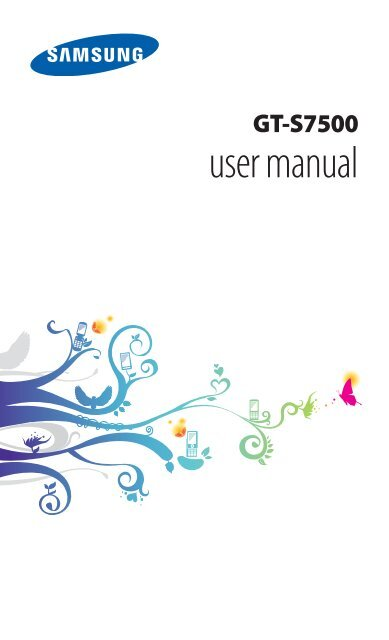 GT-S7500 user manual - Samsung Galaxy Ace Plus - Virgin Media