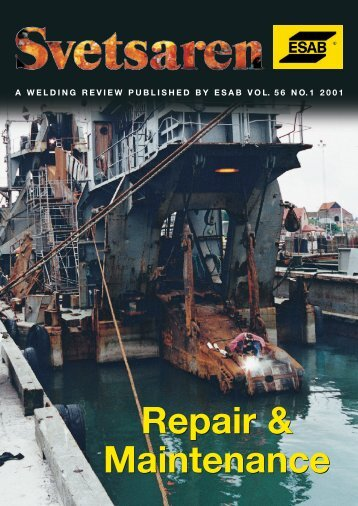 Repair & Maintenance Repair & Maintenance - Esab