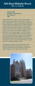 Downtown Amarillo Historic Church Tour (PDF - 1.5MB) - Page 2