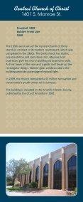 Downtown Amarillo Historic Church Tour (PDF - 1.5MB) - Page 5