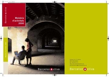 Barcelon ctiva - Barcelona Activa
