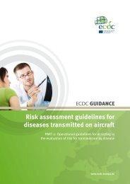 Risk assessment guidelines for diseases ... - ECDC - Europa