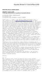 Gazzetta Ufficiale N. 73 del 30 Marzo 2005 - ComproVendoLibri.it