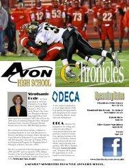 2011.11 Chronicles - Avon Community School Corporation