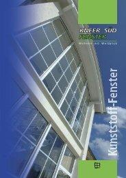 Broschüre | Kunststoff-Fenster - Kneer GmbH