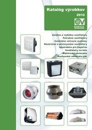 Katalóg výrobkov - KLIMAVEX as