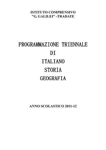 """Lettere 2011-12 - I.C. """"G. Galilei"""" Tradate"""