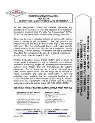 Owners Manual Class K B260 B262.pdf - Amerex Corporation