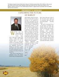 2009 Barley Annual - Western Barley Growers Association