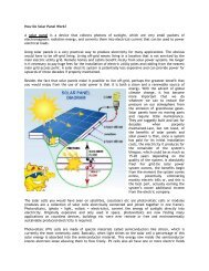 How Do Solar Panel Work? A solar panel is a ... - Digital Consummate