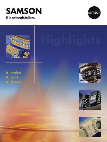 Nederlandse flyer (pdf) - Samson Regeltechniek