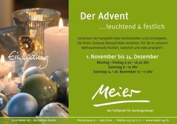 Der Advent - Ernst Meier AG
