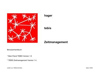 hager tebis Zeitmanagement - Eibmarkt.com