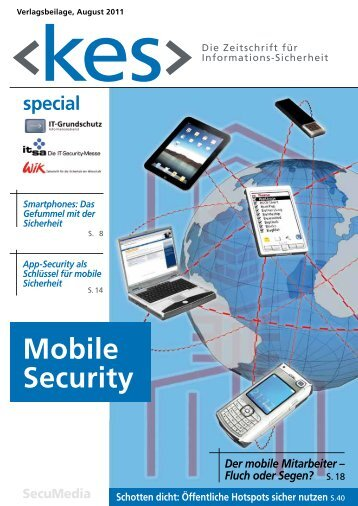 "Special ""Mobile Security"" auch als PDF zum Download - kes"