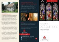 St Clement's Church, Knowlton, Kent - The Churches Conservation ...