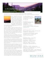 Glacier national park - Visit Montana