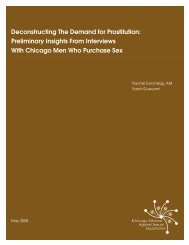 Deconstructing The Demand for Prostitution ... - Slavery No More