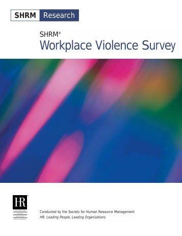 Workplace Violence Survey
