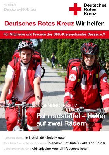 Fahrradstaffel - DRK Kreisverband Dessau eV